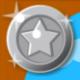 銀動物のメダル