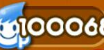 フレンズポイント10万枚の表示画面
