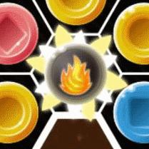 ラッキー爆弾のアップ画面