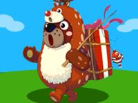 クマカイ登場。クリスマス動物への大きな期待と失望