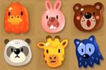 ポコポコの動物6匹