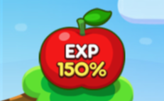 経験値150%